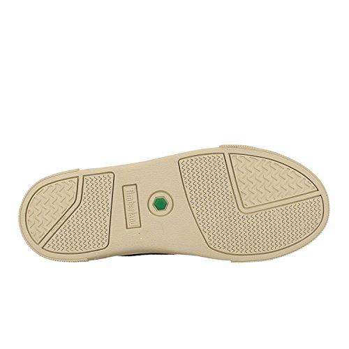 Timberland Unisex Kid s Abercorn Bungee Strap Chukka Boots   Dark Grey Suede P01   6 5  40 EU