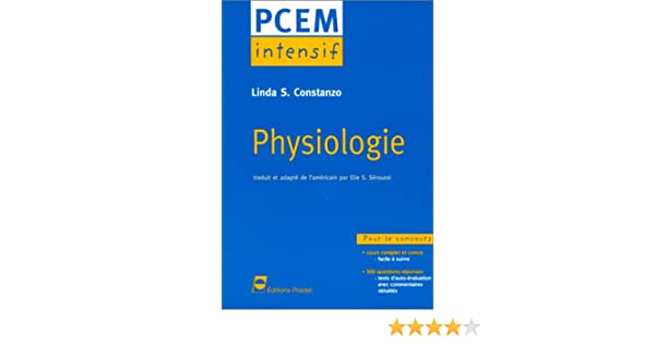 pcem intensif physiologie