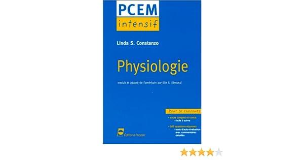 pcem intensif physiologie gratuit