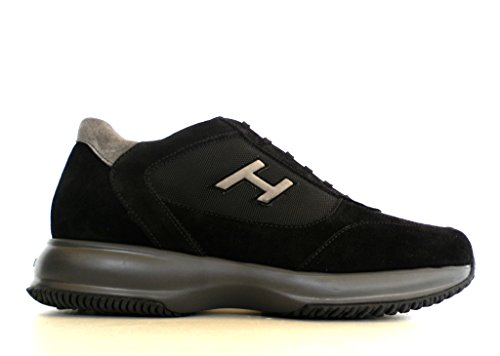 Hombre zapatillas de deporte bajas HOGAN NUEVO INTERACTIVO HXM00N0Q101B2A0564 45 Nero / grigio TJFLuqK
