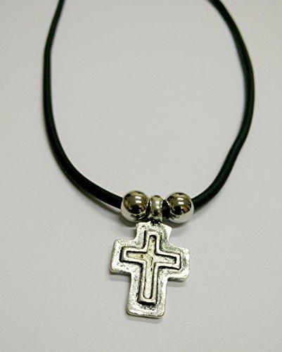 Christian Orthodox greco Unbespielt-Ciondolo a forma di