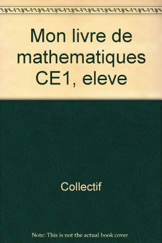 Cameroun maths CE1 98 ned