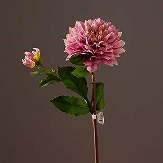 NICEWL Simulación De Flores Artificiales Dalia Decoración-Ramo Hecho A Mano Arreglo Floral Plantas En Maceta, Adornos De Flores Falsas para Interiores, Accesorios para El Dormitorio