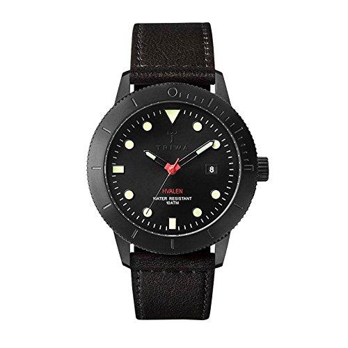 Triwa Midnight Hvalen Black Watch HVST105