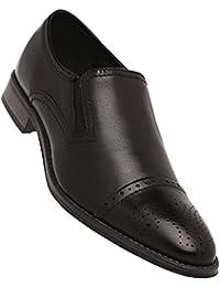 Venturini Mens Leather Slipon Loafers
