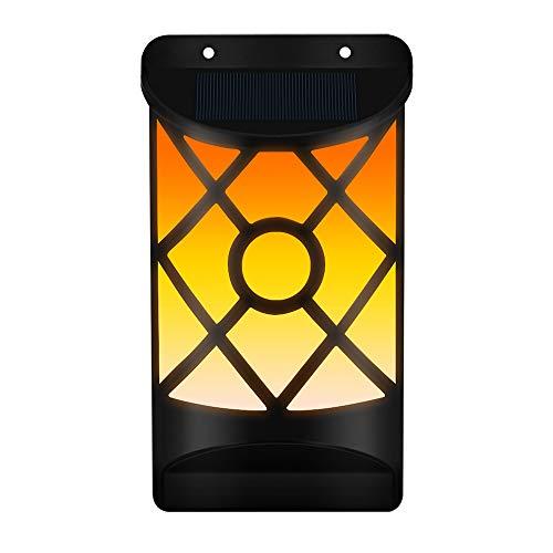 Edelstahl-select Türen (Solar-Wandleuchte, Wasserdichtes Tanzblinklicht, 66 LEDs, Automatisches Ein- Und Ausschalten, Solar-Gartenleuchte, Kabelloses Design Im Innenhof, Zaun, Terrasse, Tür)