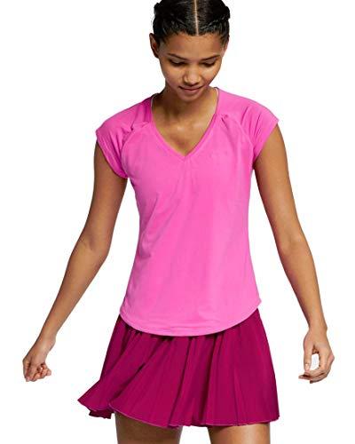 Nike Damen W NKCT Pure T-Shirt, Active Fuchsia, M