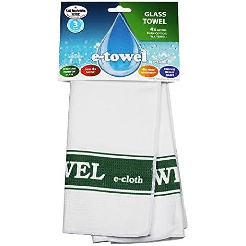 E-Cloth - Paño para limpiar cristal, color verde