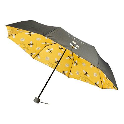Flower Compact (Dresz No Rain No Flowers - Compact Pongee Regenschirm)