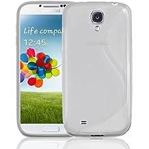 JAMMYLIZARD | Custodia S LINE Cover in Silicone per Samsung Galaxy S4 TRASPARENTE