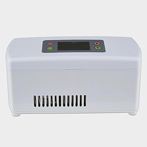 FRSU Portable Insulin Kühlschrank Mini Kühlschrank Auto Intelligent Thermostat Weiß