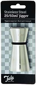 Tala Stainless Steel 25/ 50 ml Jigger
