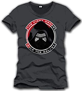 Cotton Division Tshirt Homme Star Wars VII - Rule The Galaxy - Legend Icon