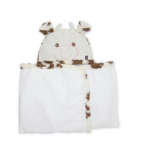 Kaloo - Colección Les Amis, Toalla albornoz con capucha modelo vaca Milky (K962997)
