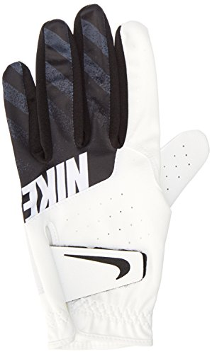 Nike Kids' Sport Golf Glove LH White/Black Medium