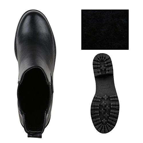 Stiefelparadies - Bottines Chelsea Black Woman
