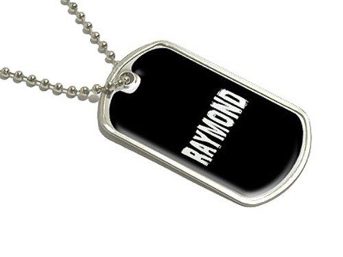 raymond-namen-militarische-erkennungsmarke-gepack-schlusselanhanger