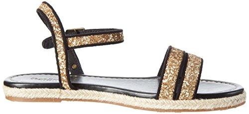 Pepe Jeans Londra Damen Venize Glitter Sandalen Oro (oro)