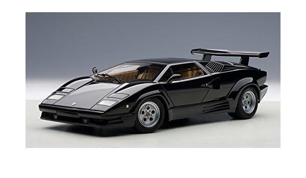 Lamborghini Countach 25th Anniversary Edition Black 1 18 By Autoart