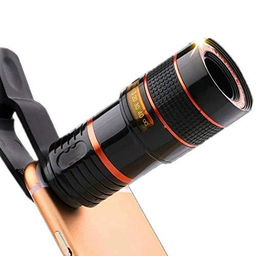 Iiloens Allgemeine HD 8X optisches Teleskop Zoom-Clip für Handy-Kamera Vorsatzlinsen