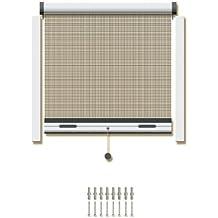 Schellenberg 70980 Insektsystem Rollo Standard für Fenster, 150 x 150 cm, weiß
