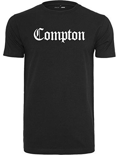 Mister Tee T-Shirt Manches Courtes Compton S Noir 9b734562b97