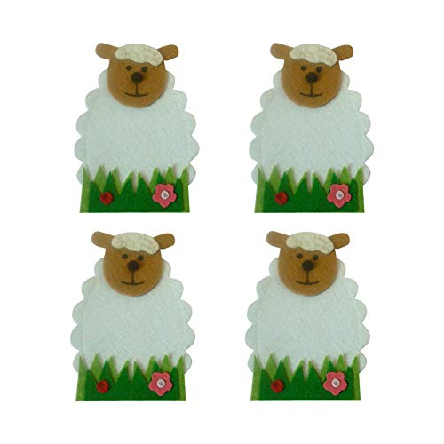 afe Geschirr Halter Tasche Küche Besteck Taschen Löffel Abdeckungen Niedlichen Cartoon Lamm Dekoration Candy Abdeckung ()