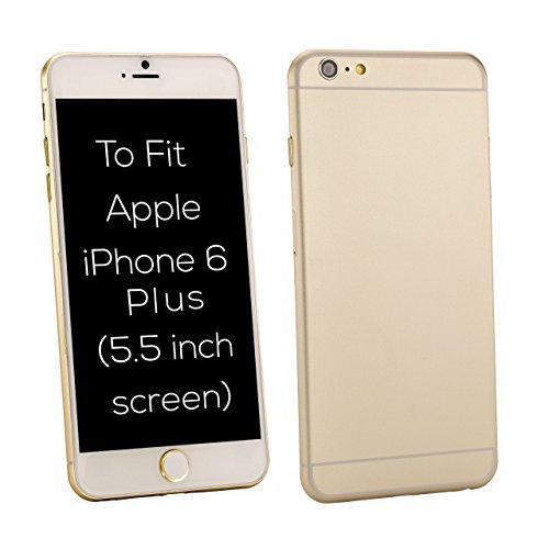 32nd Custodia Protettiva ibrida copertura anti-urti case cover per Apple iPhone 6 Plus & 6S Plus - Nero Portafoglio - Nero