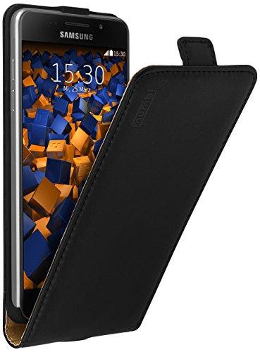mumbi PREMIUM Leder Flip Case Samsung Galaxy A5 (2016) Tasche (nicht für das Galaxy A5 - A500F von 2015)