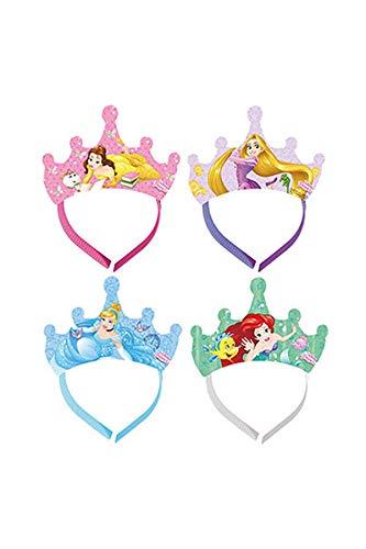 Procos Disney Prinzessinnen Diademe (4 gemischte Designs)