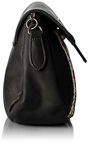 Kaporal  Gerry, Damen Umhängetasche 26x17x4.5 cm (W x H x L) Noir (Black)