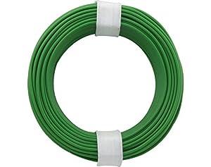 Donau Elektronik 105-45 - Cable de núcleo sólido (10 m), Color Verde