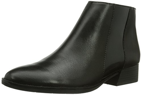 Tamaris 25062, Stivaletti Beatles Donna Nero (Schwarz (Blk/Blk Brush 29))