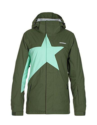 Zimtstern Damen Snow Jacket Snowy 16 Olive, XS