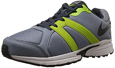 Nike Men's Ballista IV Msl Magnet Grey,Black,Dark Magnet Grey,Frc Green  Running Shoes -12 UK/India (47.5 EU)(13 US)