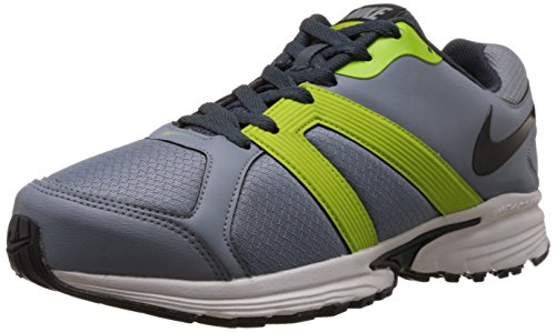 9. Nike Men's Ballista IV Msl Magnet Grey,Black,Dark Magnet Grey,Frc Green Running Shoes