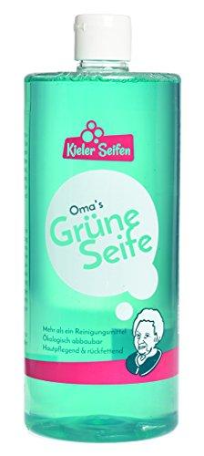 Kieler Seifen - Oma's Grüne Seife Allzweckreiniger Seife Putzmittel Haushaltsreiniger - 1l