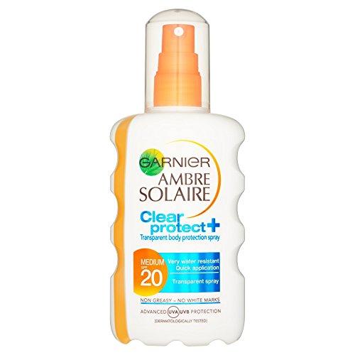 Price comparison product image Garnier Ambre Solaire Clear Spray Spf20, 200 ml