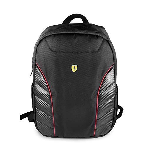 "CG MOBILE Ferrari Pit Stop Colección Nueva Scuderia 15"" Negro Nylon P"