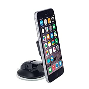 OSO In Car Mobile Phone Holder, Smart Touch Universal Dashboard & Windscreen Magnet Mount for iPhone 6S 6 Plus, Samsung Galaxy S6 Edge, S5, Note HTC Blackberry Nokia Google Nexus Smartphones