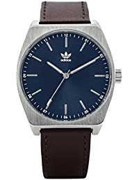new product 917a2 0f74f Adidas Men s Analogue Quartz Watch with Leather Strap Z05-2920-00