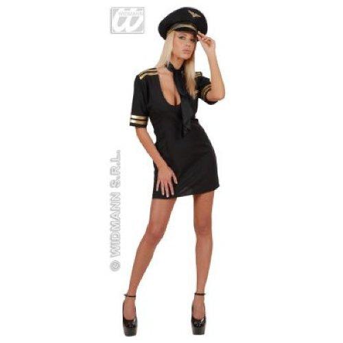 Widmann-WDM2726J Kostüm für Mädchen, Grau Schwarz, ()