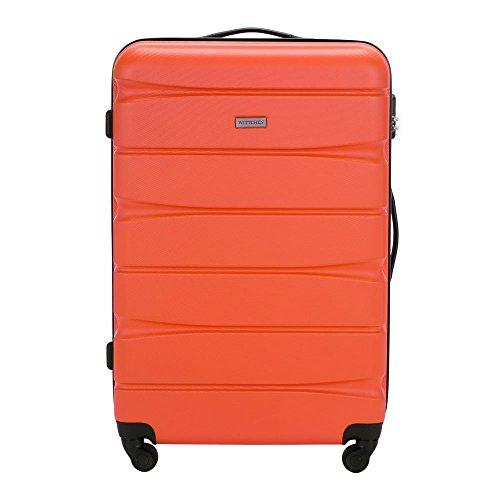 WITTCHEN Großer koffer | Farbe: Orange | Material: ABS | Größe: 78 x 52 x 29 cm | Gewicht: 4.2 kg | Kapazität: 93 L | Sammlung: GROOVE Line II | 56-3A-363-55
