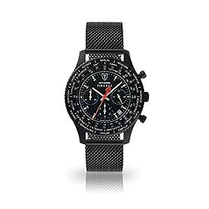 DETOMASO Firenze Reloj de Pulsera para Hombre Cronógrafo Analógico Cuarzo