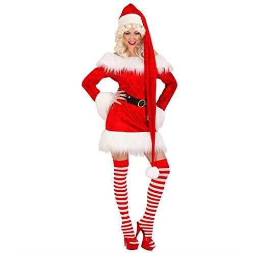 Preisvergleich Produktbild XXL Weihnachtsmann Mütze Nikolaus Weihnachtsmannmütze Nikolausmütze Weihnachtsmütze extra lang