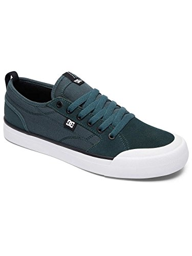 DC Shoes Evan Smith S - Chaussures de skate pour Homme ADYS300203 Vert - Deep Jungle