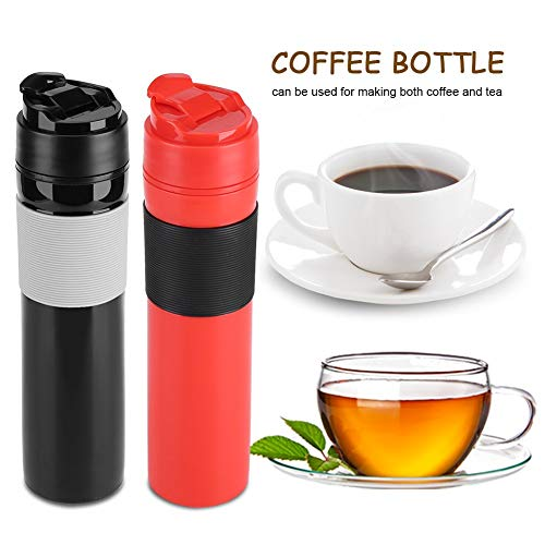 412Se8oQY9L. SS500  - 350ml Portable Mini Espresso Maker Hand Held Pressure Caffe Espresso Machine Compact Manual Coffee Maker for Home Office…