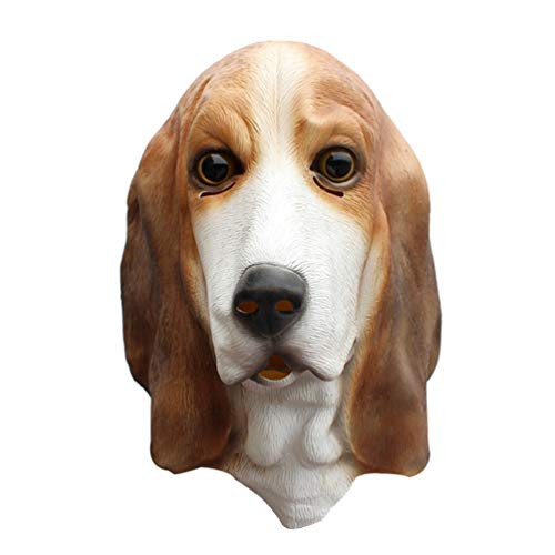 Kostüm Streich Hunde - Amosfun Cosplay Hund Streich Requisiten Kopfbedeckung Cosplay Kostüm Halloween Streich Accessoires Dekore