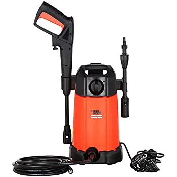 Black & Decker PW1200 Pressure Washer 90-Bar 1200-Watt Pressure Washer