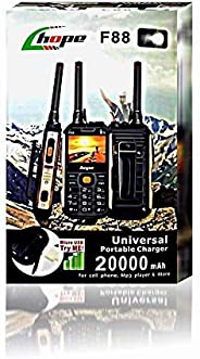 Hope F88 Mobil & one piece Walkie-talkie supports two SIM card